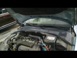 Выполняем промывку топливных форсунок на редком автомобиле Volvo V70 2.5 turbo.