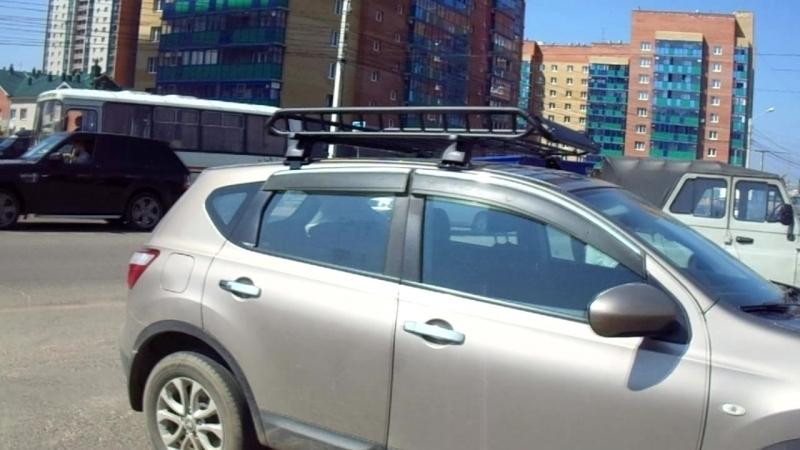 Nissan Qashqai Багажная система Lux Qashqai Forester 1.4