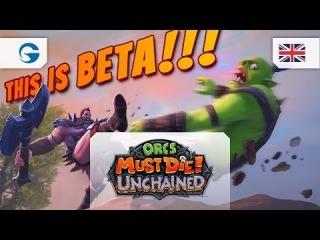 Orcs Must Die! Unchained - Closed Beta Trailer EN