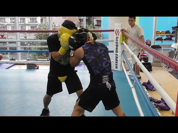 怪物・井上尚弥の弟【井上拓真spar】2017.11. Boxing inouenaoya's brother