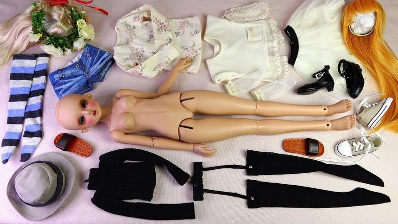 ★구체관절인형 치카비 유리 개봉후기/진저★Ball Jointed Doll CHICABI Ginger Honey YURI(Tan Skin)Unboxing/BJD