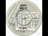 LARRY WALLIS. 1977. on parole.