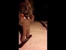 Бёрпи на сноуборде