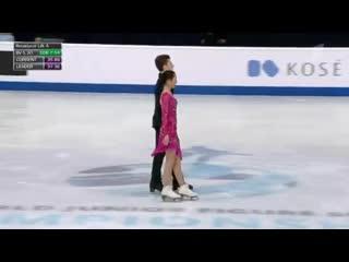 Елизавета Худайбердиева-Никита Назаров Ритм. танец Чемпионат мира среди юниоров 2019 Загреб 6-10 марта