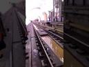 Прорыв грунтовых вод в тоннеле ЛДЛ возле станции Окружная