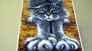 Картина стразами 'Цап царап' Артикул 552432