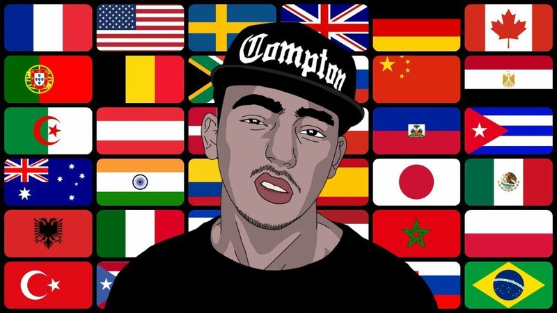 Best Rap Around The World [ 60 countries ]