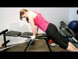 Упражнения для  низа спины, поясницы.