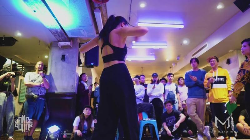 Tonia (HK) vs Yuming (CHN) | Waacking Top 16 | Dance Collab vol. 3