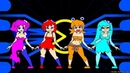 Pac-man Ghosts animation by minus8