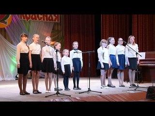 Пасхальная песнь Ученики воскресной школы Никольского собора г Вятские Поляны