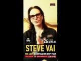 Steve Vai - видео-приветствие (26.04 - Msk, 27.04 - SPb)