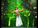 Арабский танец живота 1 часть. Мария Милославская