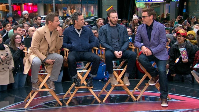 'Avengers: Age of Ultron' Cast Takes Over Times Square