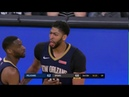 Manu Ginobili ROOKS Anthony Davis Draws 2 Techs 2 Fouls In 23 Seconds Of Game Time