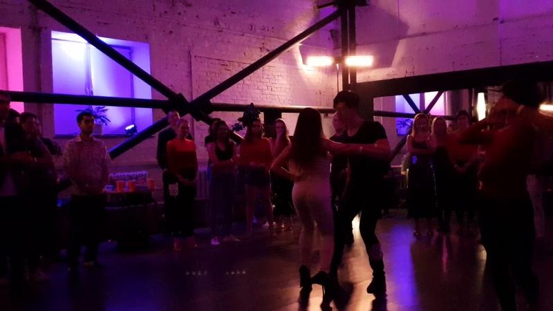 Влад Педанов и Сабина Шарипова | Перетанцовка Финал JJ @ Social Dance Awards 2018: bachata edition