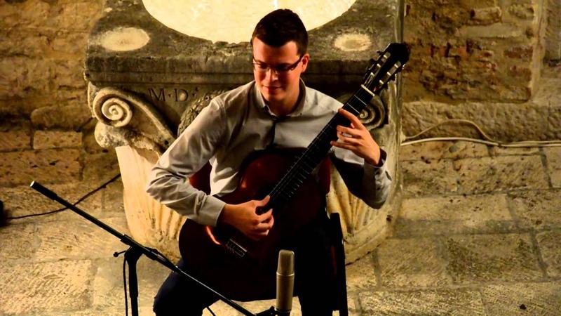 Etnografski muzej Split, Francisco Tárrega (1852.-1909.) Capricho arabe, Srđan Bulat - gitara