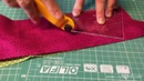 Flick-Flack - Twister block, Patchwork Template tutorial by Csoki-Folt