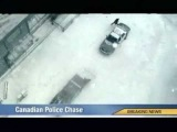 Canadian Police - Car Chase Video - Really Funny