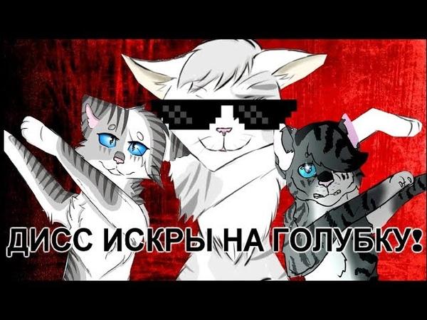 Коты Воители ДИСС ИСКРЫ НА ГОЛУБКУ