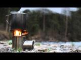 Презентация походной твердотопливной горелки Airwood Euro BM с турбо-тягой