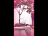 Video by @pooja_dadlani on Instagram story SHOOTDAY - - @iamsrk