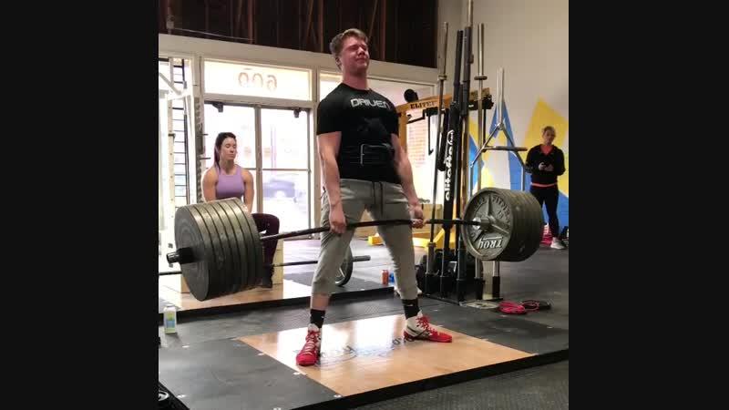 Бен Пур тяга 675 фунтов