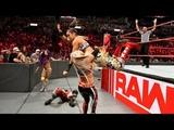 SB_Group Full Match Sasha Banks Bayley &amp Ember Moon vs The Riott Squad - Raw 20th Aug 2018