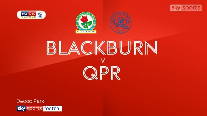 «Блэкберн Роверс» - «Куинз Парк Рейнджерс» 1:0 (Sky Sports)
