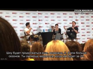 FanExpoCanada 6.09.2015_ Тайлер о возвращении в Волчонок [Rus Sub]