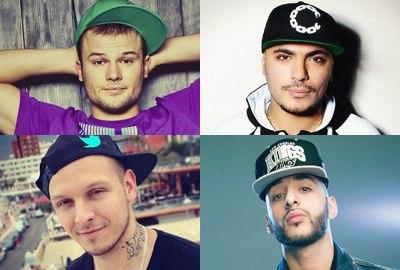 Известные люди ВКонтактe. Хип-Хоп исполнители