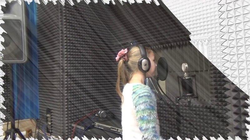 Запись вокала в студии. Степанова Маша / Как записать песню?