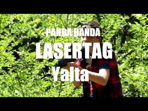 LASERTAG ЯЛТА! Panda Banda Влог 1! ТОП
