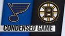 01 17 19 Condensed Game Blues @ Bruins