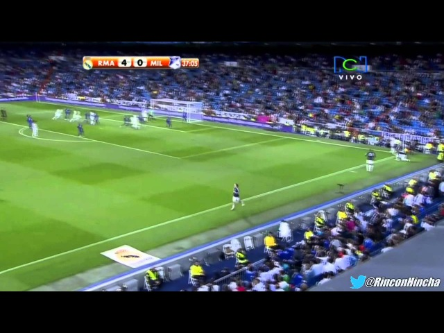 «Реал Мадрид» 8-0 «Мильонариос» (Кубок Сантьяго Бернабеу, 16.09.2012).