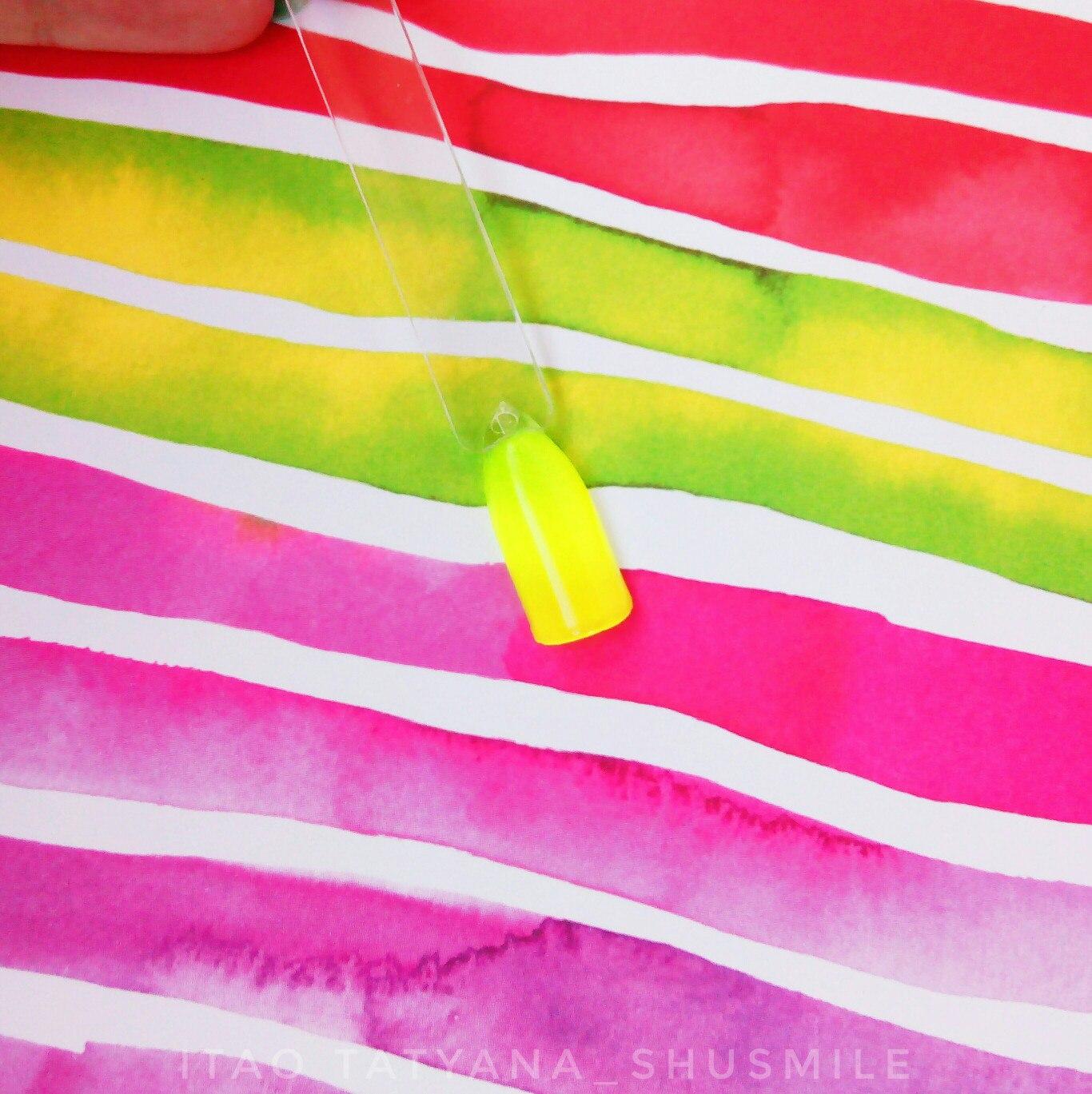 О чистых цветах гель-лака