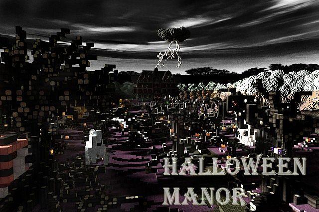 [Map] Halloween Manor - страшилки
