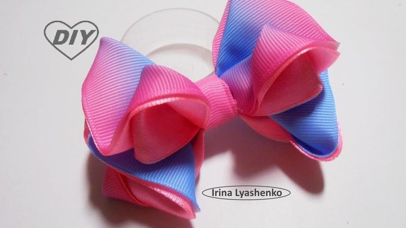 Бант на ободок или зажим МК/DIY Tiara bow/PAPArco de tiara231