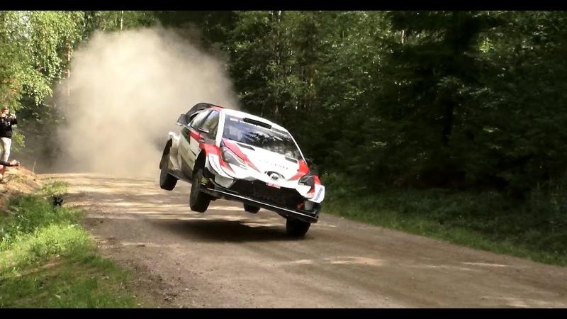 Тесты Toyota и Яри-Матти Латвалы перед ралли Финляндии 2019