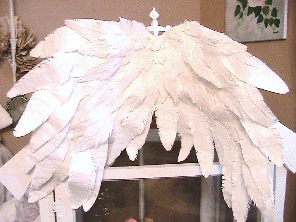 Как сделать крылья ангела своими руками фото