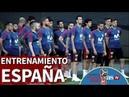 Irán-España I Primer entrenamiento de la selección previo al segundo partido I Diario AS