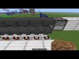 Minecraft Рубрика механизмы 10 серия ,,Датчик рандомных импульсов