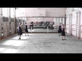 ГОСэкзамен по народному танцу.этюд на материале Молдавского танца