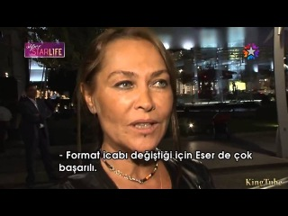 Hülya AVŞAR Süper StarLife (Хулья Авшар в восторге от Чагатая)