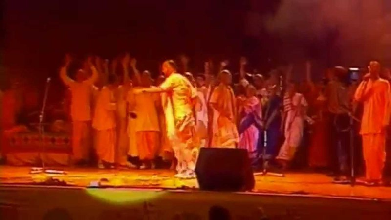 Gauranga Bhajan Band in Moscow, 1992