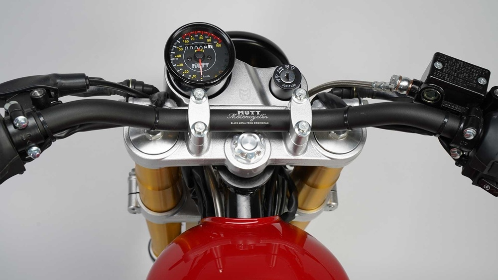Новый мотоцикл Mutt Motorcycles Razorback 125