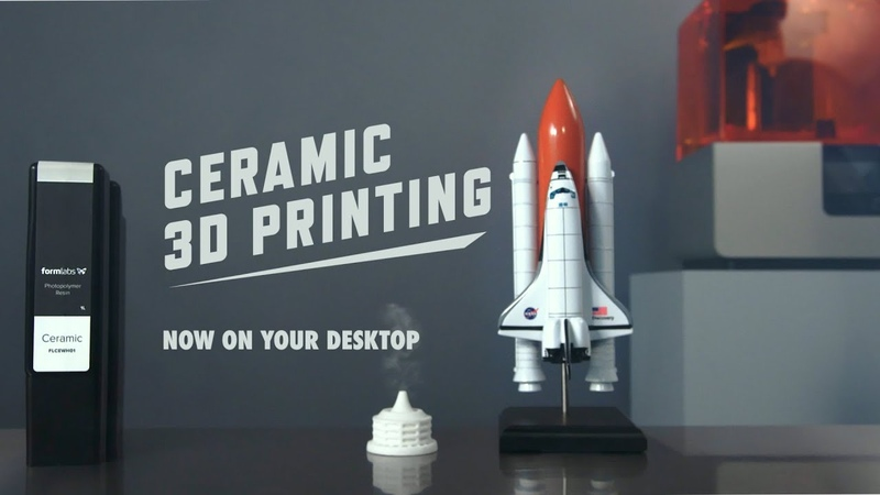 Introducing Ceramic Resin Ceramic 3D Printing On Your Desktop