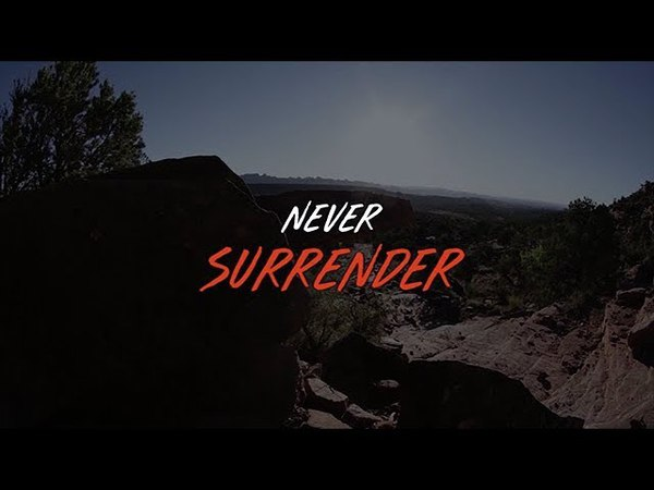 Simon Lee Alvin with Kimberly Hale - Never Surrender (Official Lyric Video)