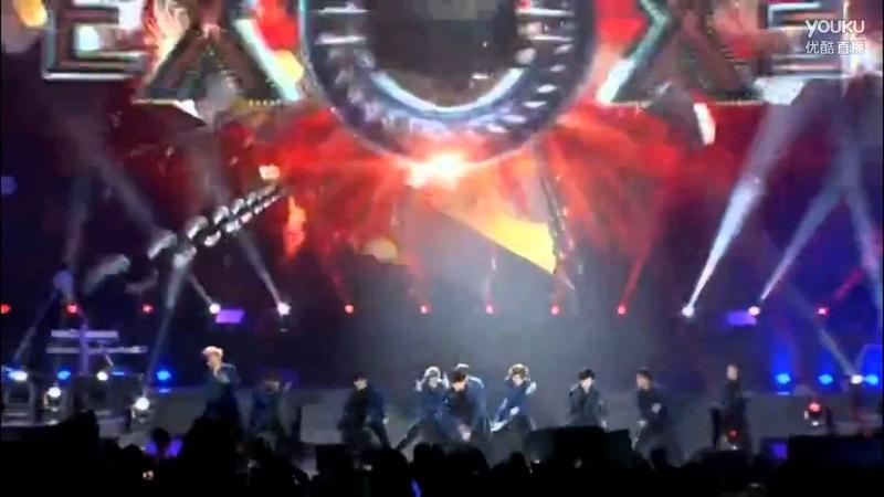 ♡ 150116 ~ EXO Youku Night - Wolf Growl
