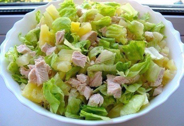 Салат легкие с фото